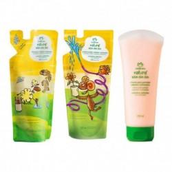 Shampoo + Acondicionador + Crema Crespo Toin Oin Oin Niños (Entrega Inmediata)