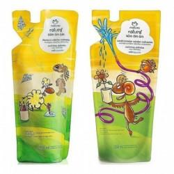 Shampoo + Acondicionador Toin Oin Oin Crespo Niños Natura (Entrega Inmediata)