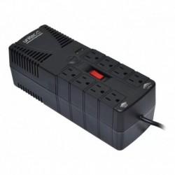 Regulador Automático Voltaje 1200va 8 Tomas Protegidas @pd (Entrega Inmediata)
