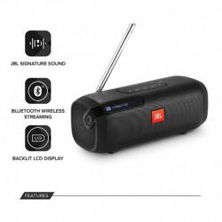 Parlante Jbl Portable Bluetooth Dab/dab+ Radio Y Fm Negro (Entrega Inmediata)