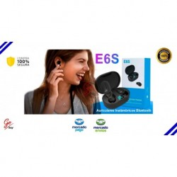 Manos Libres Bluetooth V 5.0 Originales E6s (Entrega Inmediata)