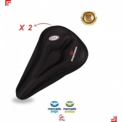 Funda Para Sillín De Bicicleta X2 Funda De Cojín Gel Comfort (Entrega Inmediata)