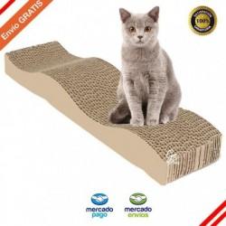 Rascador Gatos Cartón Corrugado Antiestrés Rascador Gimnasio (Entrega Inmediata)