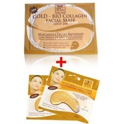 Kit Facial Mascarilla Hidratante + Mascarilla Para Ojeras (Entrega Inmediata)