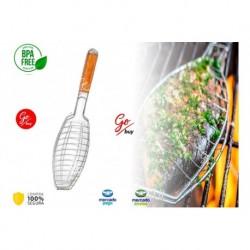 Parrilla Para Pescado Asados Bbq Cocina Azafran Asador (Entrega Inmediata)