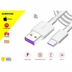 Cable De Datos Usb Tipo C Original Samsung Negro Y Blanco (Entrega Inmediata)