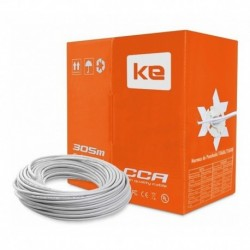 Patch Cord / Cable Red Utp Cat. 6 Interior Miokee 305 Mts. (Entrega Inmediata)