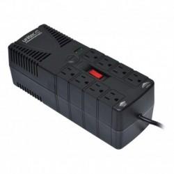 Regulador Automático De Voltaje 1200va · 8 Tomas Protegidas (Entrega Inmediata)