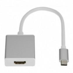 Cable Adaptador / Convertidor De Usb 3.1 Tipo C A Hdmi (Entrega Inmediata)
