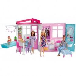Barbie Casa Glam Amoblada Con Muñeca Incluida Original 60cm (Entrega Inmediata)