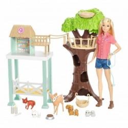 Muñeca Barbie Rescate Animal Figura Regalo Incluye Barbie (Entrega Inmediata)