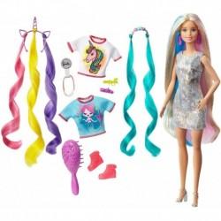 Barbie Muñeca Peinados De Fantasía Unicornio Original (Entrega Inmediata)