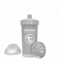 Vaso Entrenador Twistshake Kid Cup 12oz 360 Ml 12m+ Gris (Entrega Inmediata)