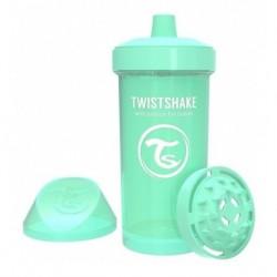 Vaso Entrenador Twistshake Kid Cup 12oz 360 Ml 12m+ Verde (Entrega Inmediata)