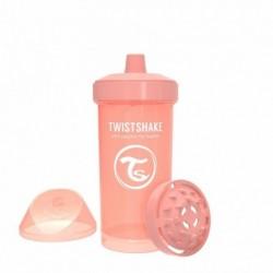 Vaso Entrenador Twistshake Kid Cup 12oz 360 Ml 12m+ Peach (Entrega Inmediata)