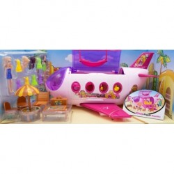Avión Lujo Fashion Muñecas Para Niñas (Entrega Inmediata)