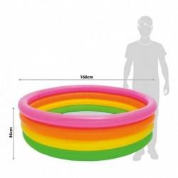 Piscina Inflable Intex De 4 Aros 168x46 Cm (Entrega Inmediata)