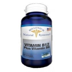 Vitamina B12 Plus Vitamina B6 100 System (Entrega Inmediata)