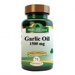 Garlic Oil (aceite De Ajo) 1500 Mg X 75 Cápsulas Blandas (Entrega Inmediata)