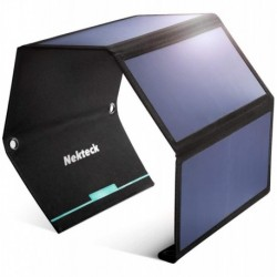Cargador Panel Solar Portatil Nekteck 28w 2 Usb 2.4a (Entrega Inmediata)