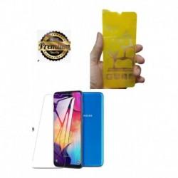 Ceramico Sin Molestos Bordes Full Cover Samsung Galaxy A20 (Entrega Inmediata)