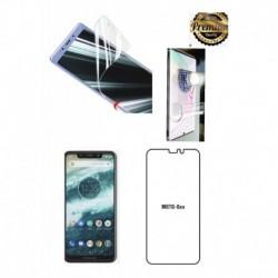 Protector Pantalla Hidrogel Full Pega Motorola Moto One (Entrega Inmediata)