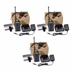 Radio Walkie Profesional Baofeng Uv5r Combo X3 60km (Entrega Inmediata)