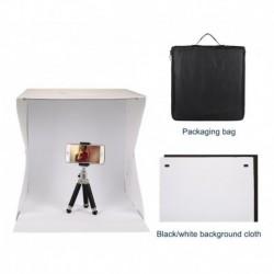 Cubo Fotografia Fotos Portatil Con Luz 40x40 Cm Pvc Estuche (Entrega Inmediata)
