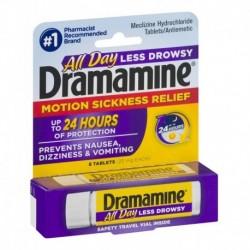 Dramamine Para Mareos Nausea Vomit (Entrega Inmediata)