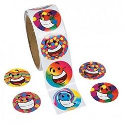 Funky Smile Cara Roll Stickers Papelería Pegatinas