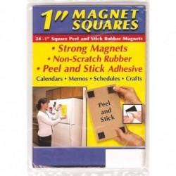 Piezas Pequeñas 08057 Cuadrados Magnéticos Con Adhesivo Pa
