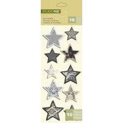 K Y Company Studio 112 Pillow Pegatinas Estrellas