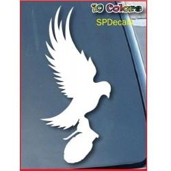 Dove And Grenade Hollywood Undead Car Window Vinilo Adhesivo