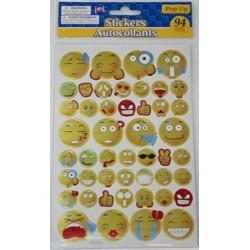 Etiqueta Engomada De Emoji Metálico Cuenta 108
