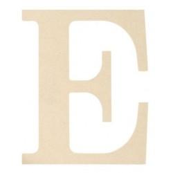 Mpi Mdf Classic Font Wood Letras Y Números 95inch Letra E