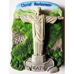 Estatua De Cristo Redentor Rio De Janeiro El Brasil Resina 3