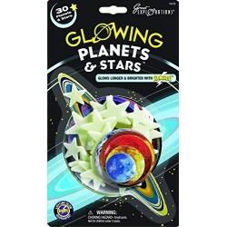 Grandes Exploraciones Brillan Los Planetas Oscuros Estrellas