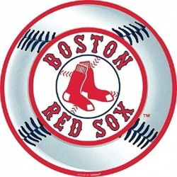 Pieza Decorativa Para Fiestas Boston Red Sox Béisbol Amscan