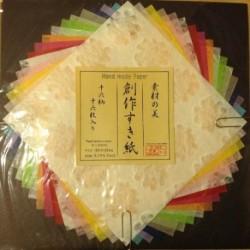 Papel Decorativo De Arco Iris Japones Hecho A Mano, Para Man