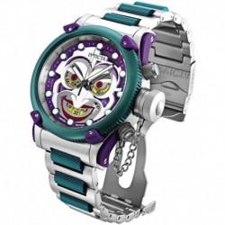 Reloj Invicta DC 34293 Comics 52mm Limited Ed Green Joker Russian Diver Offshore Swiss Quartz Chronograph