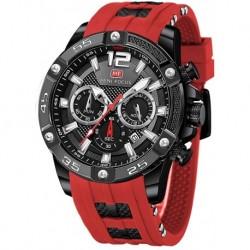 Reloj MF0349G Hombre Sports (Multifunction,Waterproof,Luminous,Calendar) Silicon Strap Wrist Fashion for ...