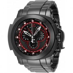 Reloj Invicta 34339 Hombre Jason Taylor Quartz Chronograph Black, Red, Gunmetal Dial