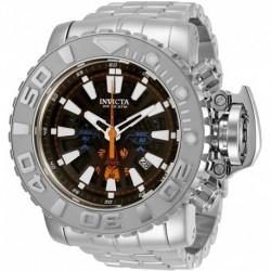 Reloj Invicta 31465 Hombre Sea Hunter Quartz with Stainless Steel Strap, 30