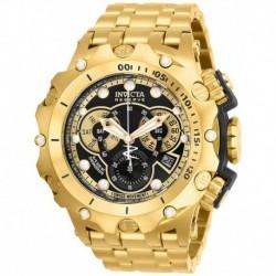 Reloj Invicta 27794 Hombre Reserve Quartz with Stainless Steel Strap, Gold, 31