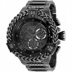 Reloj Invicta 35378 Hombre Reserve Quartz with Stainless Steel Strap, Black, 31