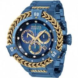 Reloj Invicta 34841 Hombre Reserve HERC Quartz with Stainless Steel Strap, Blue, 31