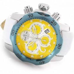 Reloj Invicta 29220 Hombre Venom Yellow and Silver Tone Dial Chrono
