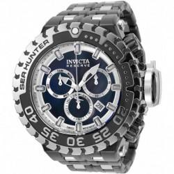 Reloj Invicta 34596 Hombre Sea Hunter Swiss Quartz Diving with Stainless Steel Strap, Black, 31.3