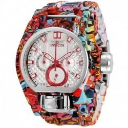 Reloj Invicta Bolt Chronograph Quartz Silver Dial Hombre 32421