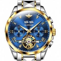 Reloj T-S-G3186-JL Swiss Brand Hombre Automatic Self Winding Mechanical Tourbillon Luxury Business Sapphire Crystal Luminous Waterproof